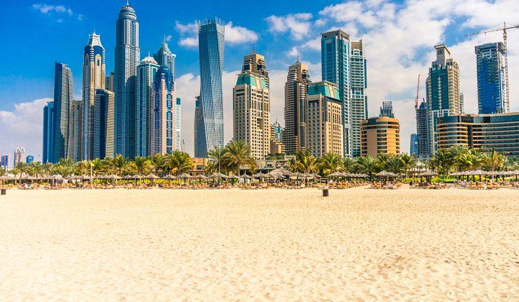 أطول المباني السكنية في دبي