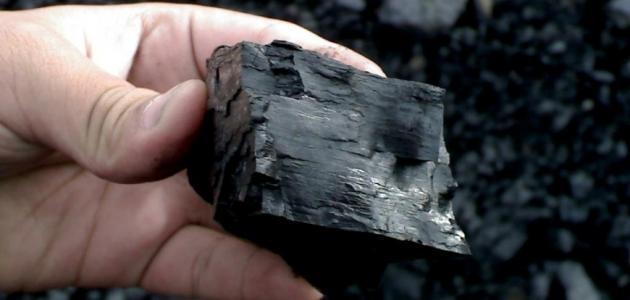 مكونات الفحم