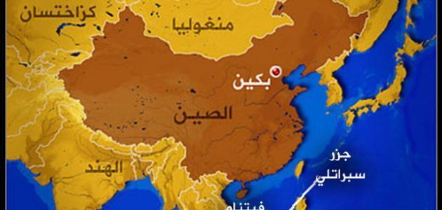 في أي قارة تقع الصين حروف عربي