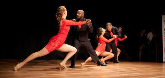 أنواع الرقص العالمي