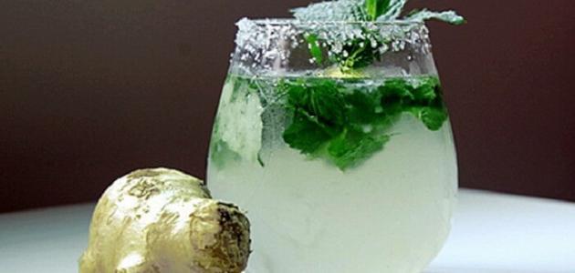 فوائد شرب الزنجبيل مع النعناع