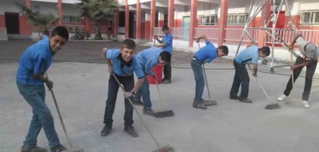 موضوع تعبير عن النظافة والنظام