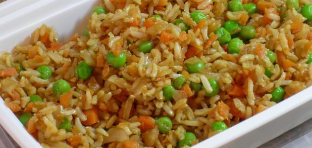 طرق عمل الأرز بالخلطة