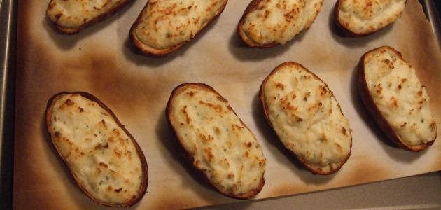 طريقة بطاطس بالفرن
