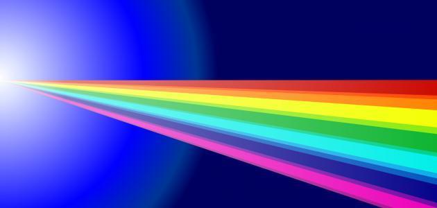 مكونات الضوء