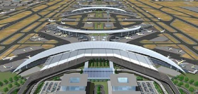أين يقع مطار الملك عبد العزيز - حروف عربي