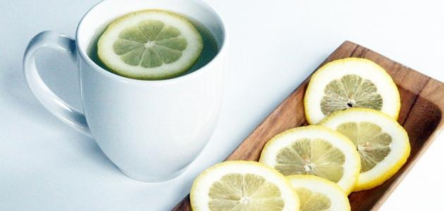 فوائد الليمون الساخن