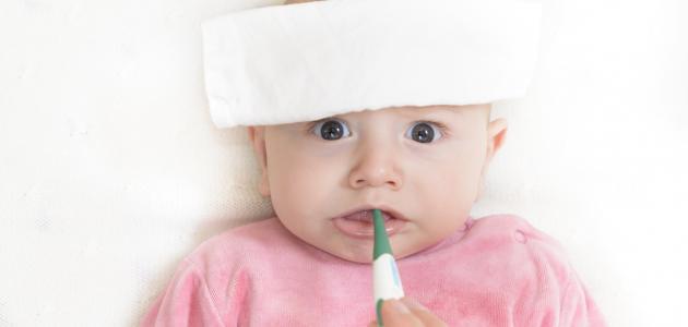 ما علاج ارتفاع درجة الحرارة عند الأطفال