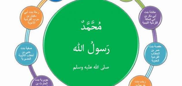 كم عدد زوجات النبي محمد صلى الله عليه وسلم