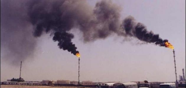 مقالة علمية عن تلوث الهواء