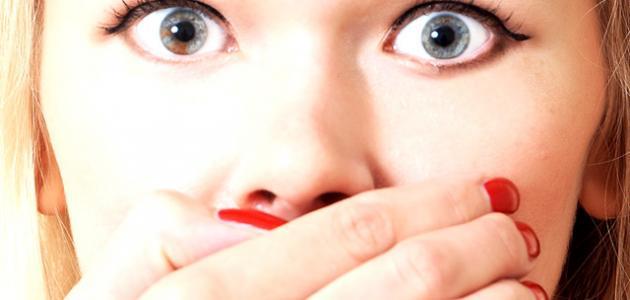 كيفيةإزالة الرائحة الكريهة من الفم