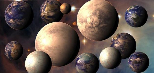 خصائص الكواكب