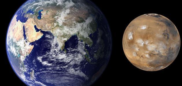 خصائص كوكب المريخ