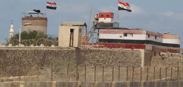 ما هى حدود مصر