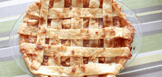 طريقة فطيرة التفاح