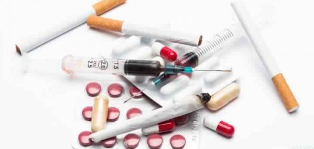 بحث علمي عن المخدرات