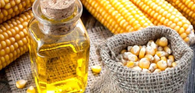 كيف يصنع زيت الذرة