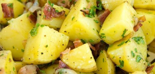 طريقة عمل بطاطس بالبصل