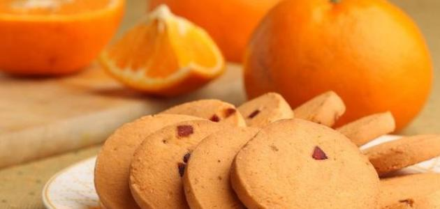 طريقة عمل بسكويت البرتقال