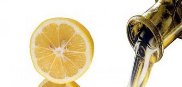 فوائد الليمون وزيت الزيتون